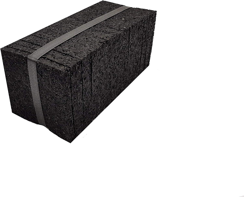Terrassenbau Zubeh/ör Terrassenpads Abstandshalter Terrassendielen Terrassenschrauben Terrassenpads Rolle Terrassenpad - Rollen, 2.000 x 50 x 8 mm