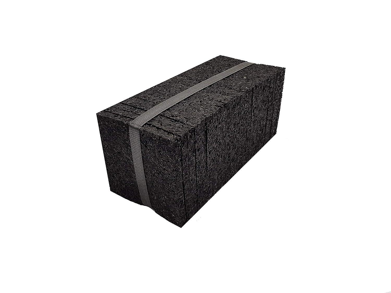 Terrassenpads Abstandshalter Terrassendielen Terrassenschrauben Terrassenpads Rolle geschlossen - 800 St/ück Abstandshalter Terrassendielen, 7 mm Terrassenbau Zubeh/ör -