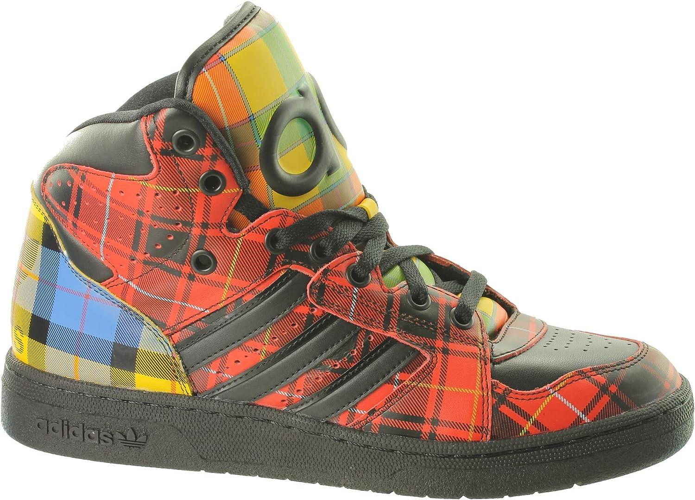 quality design 3f948 f1c24 adidas Originals Jeremy Scott Instinct Hi Rouge Homme Chaussures de Mode -  Noir - Noir,  Amazon.fr  Chaussures et Sacs