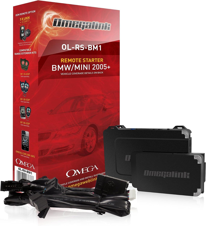 Omega Omega Remote Start Lösung Für Bmw Und Mini 2005 Bis Schwarz Amazon De Elektronik