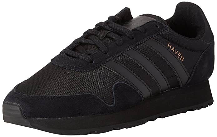 adidas Haven Schuhe Herren schwarz m. schwarzen Streifen
