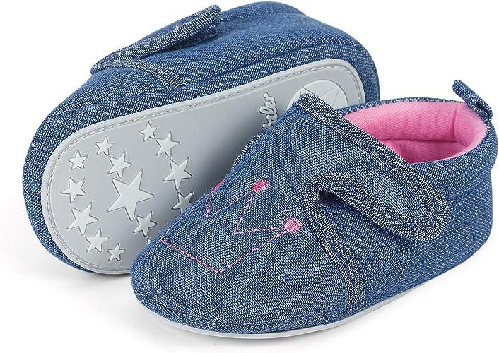 Sterntaler Unisex Baby Krabbelschuh Slipper
