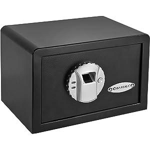 BARSKA AX11620 Biometric Mini Safe Box