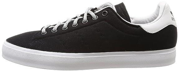 Adidas - Stan Smith Vulc, Sneakers da uomo, Cblack/Cblack/Ftwwht, 46 2/3