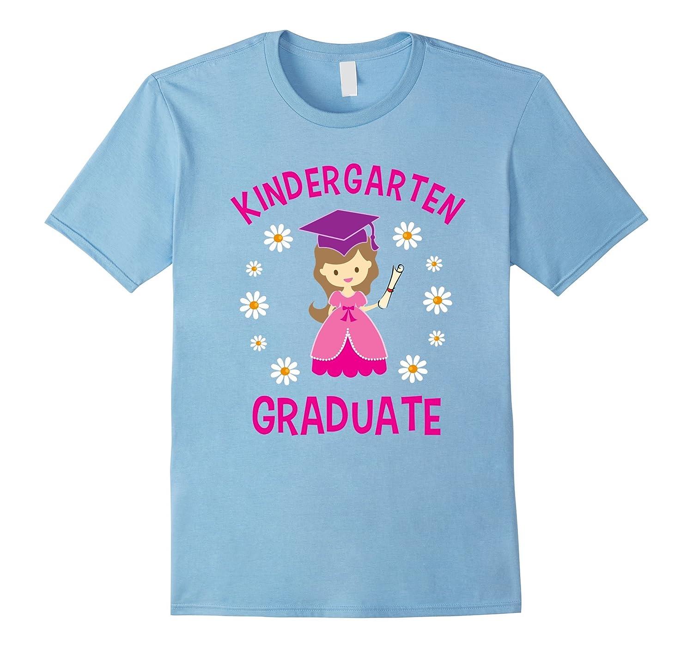 Graduation Gift Kindergarten Last Day of School Shirt Girls-RT
