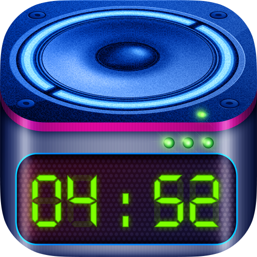 Loud Alarm Clock with Snooze, Guaranteed Heavy Sleeper Wake Up (Iphone Vibrator App Best)