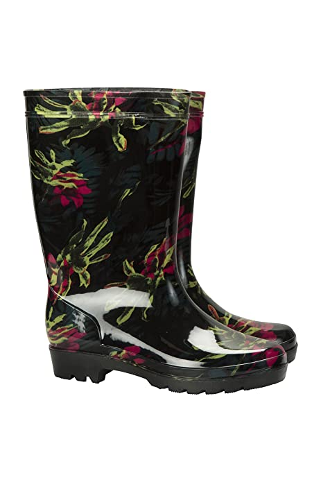 Mountain Warehouse Splash Wellies de Las Mujeres del chapoteo - Botas de Lluvia Impermeables para Mujeres