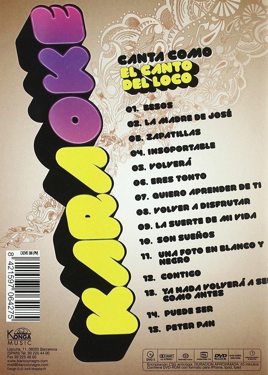 Amazon.com: Karaoke El Canto Del Loco (Import Movie) (European Format - Zone 2) (2011) Varios: Movies & TV