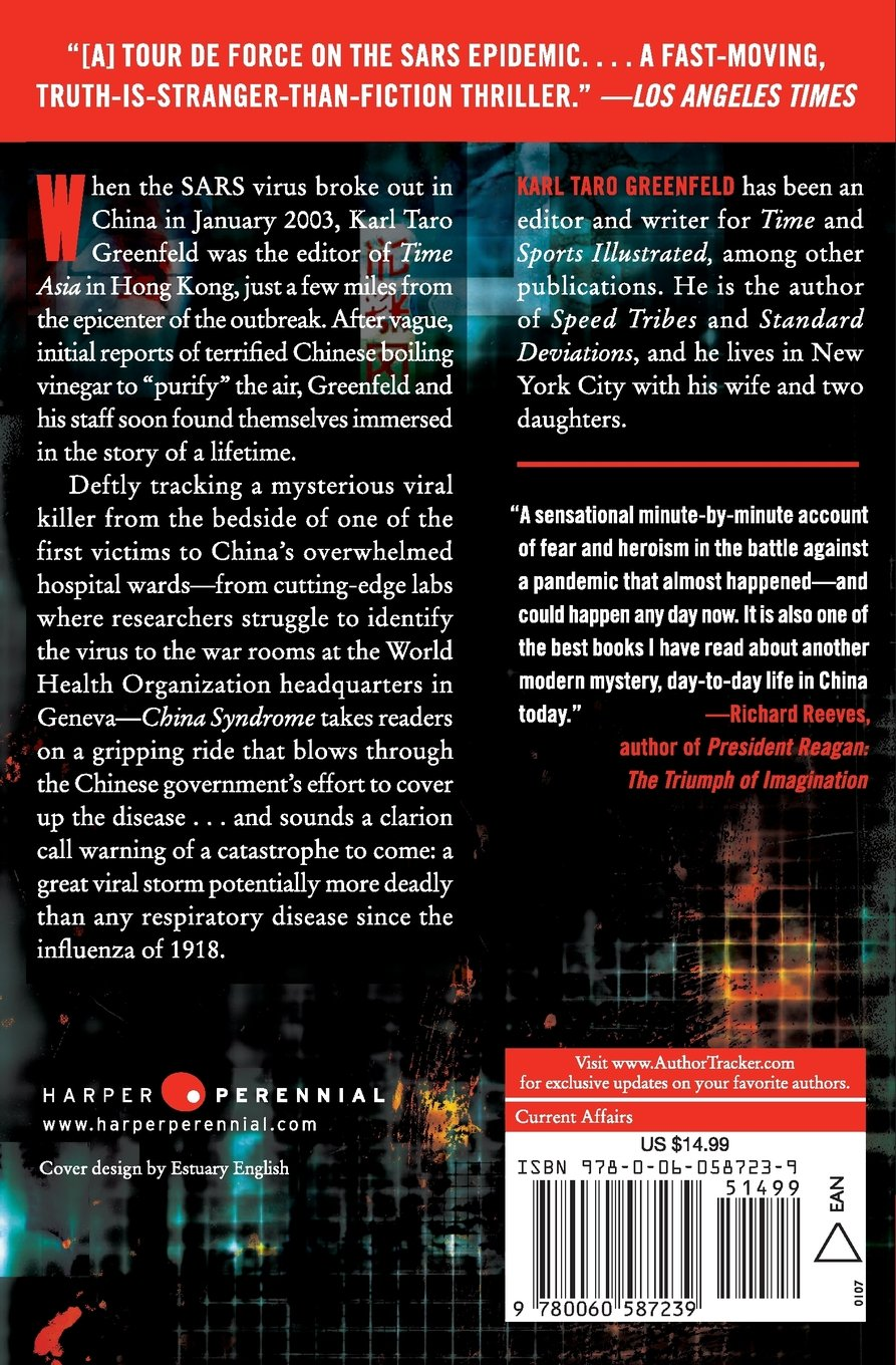 amazon china syndrome the true story of the 21st century s first