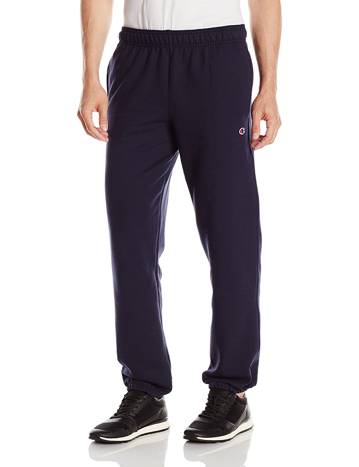 Champion mens Powerblend® Fleece Relaxed Bottom Pants (P0894)