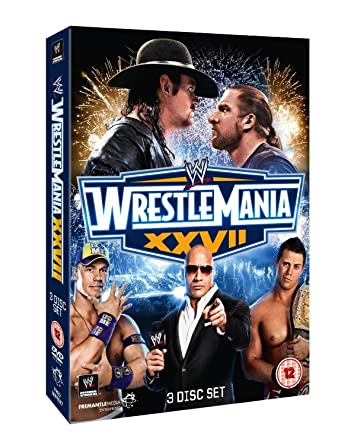WWE - WrestleMania 27 [DVD] [Reino Unido]: Amazon.es: Edge, Rey Mysterio, Kane, Big Show, Edge, Rey Mysterio: Cine y Series TV