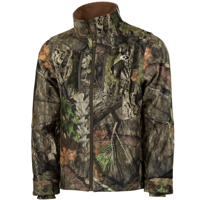Mossy Oak Men's Camo Sherpa 2.0 Fleece Lined Hunting Jacket, Break-Up Country, XX-Large by Mossy Oak