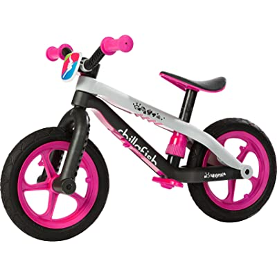 Chillafish BMXie-RS: BMX Balance Bike with Airless Rubberskin Tires, Pink (Killer Queen): Toys & Games