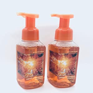 Bath & Body Works Sweet Cinnamon Pumpkin Gentle Foaming Hand Soap (2-Pack)