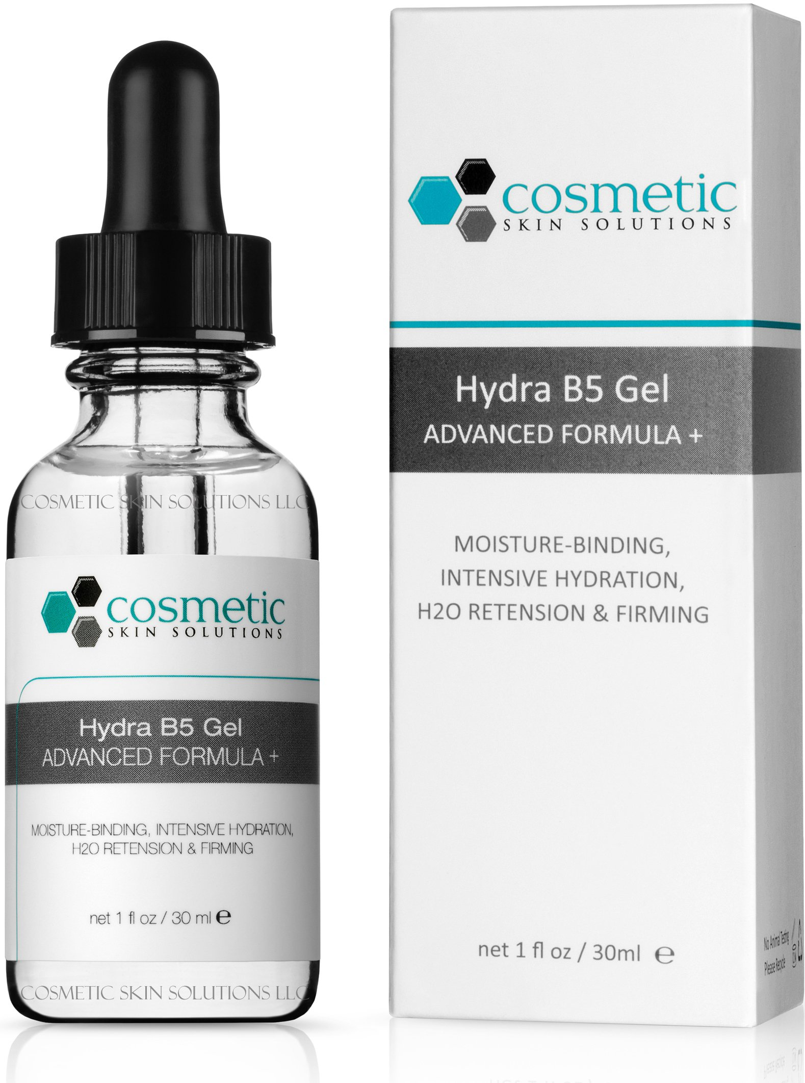 Best Hydra B5 Gel Advanced Formula + 1 fl oz / 30 ml - This Moisture-enhancing Gel Enriched with High Amounts of Vitamin B5 and Hyaluronic Acid. Intensive Hydration, H20 Retension & Firming.