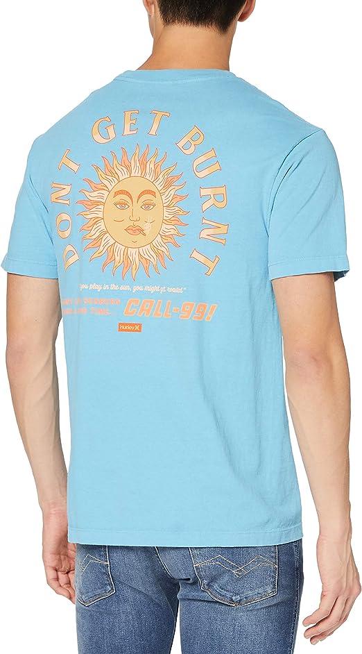 TALLA S. Hurley M Boxy Sunburn S/S T-Shirt Hombre