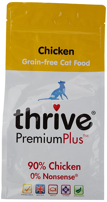 Thrive PremiumPlus Poulet Aliment sans Céréales pour Chat 1,5 kg TRTAZ11A