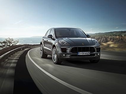 Clásico y músculo anuncios de coche y COCHE arte Porsche Macan S Diesel (2014)