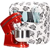 Kitchen Aid Mixer Cover,Cotton Quilted Stand Mixer Dust Cover for Kitchenaid Hamilton Sunbeam Mixers,Small Appliances Cover w