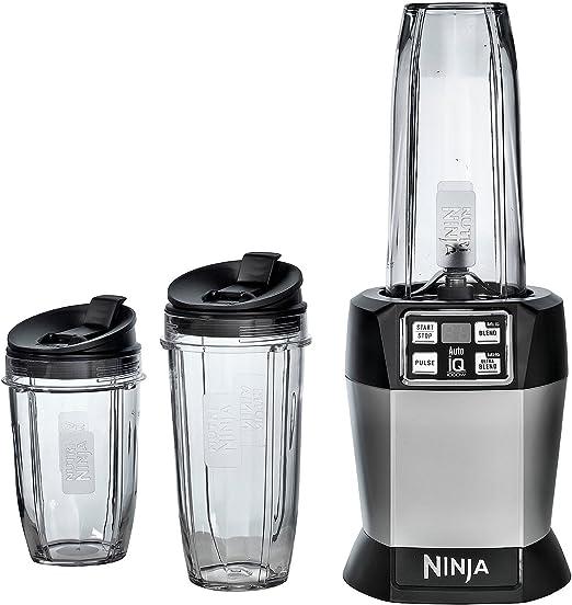 Amazon.com: Ninja BL482 Nutri-Ninja Blender with Auto iQ ...
