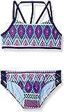 Gossip Girl Big Stripe Fusion Two Piece Bikini Swimsuit