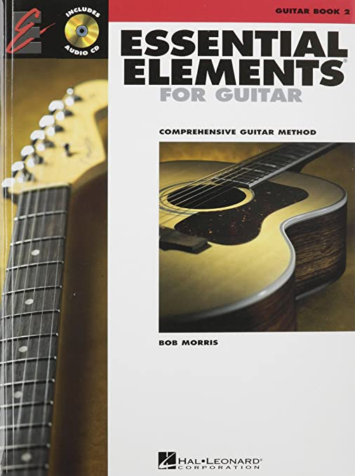Hal Leonard Essential Elements for Guitar Book 2 Book/Online Audio ...