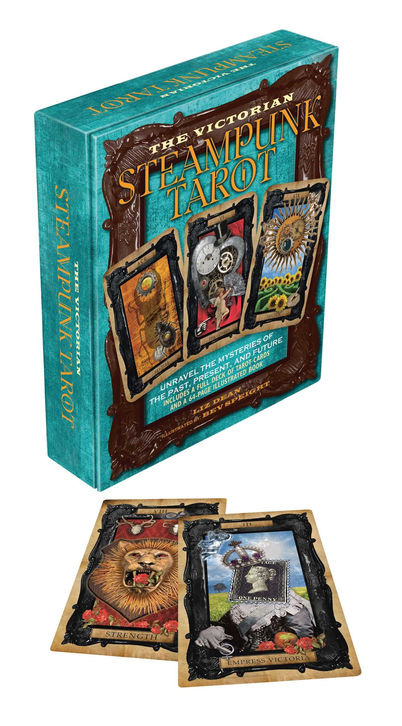 Victorian Steampunk Tarot: Unravel the Mysteries of the Past, Present, and Future With 78 Tarot Cards: Amazon.es: Dean, Liz: Libros en idiomas extranjeros