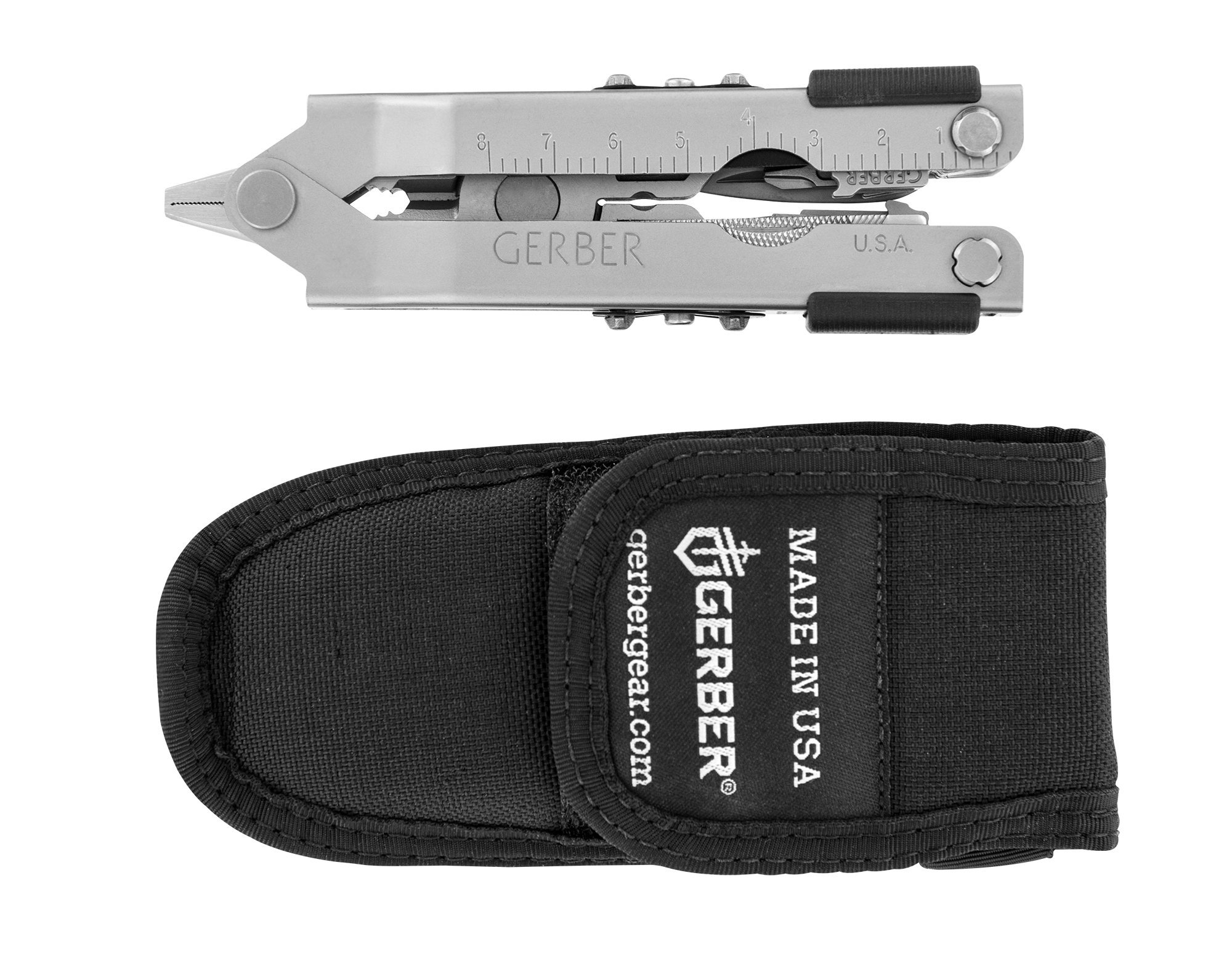 Gerber MP600 Pro Scout Multi-Plier, Needle Nose, Stainless, with Tool Kit [07564]