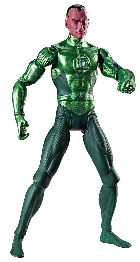 amazon com green lantern movie masters sinestro figure toys games
