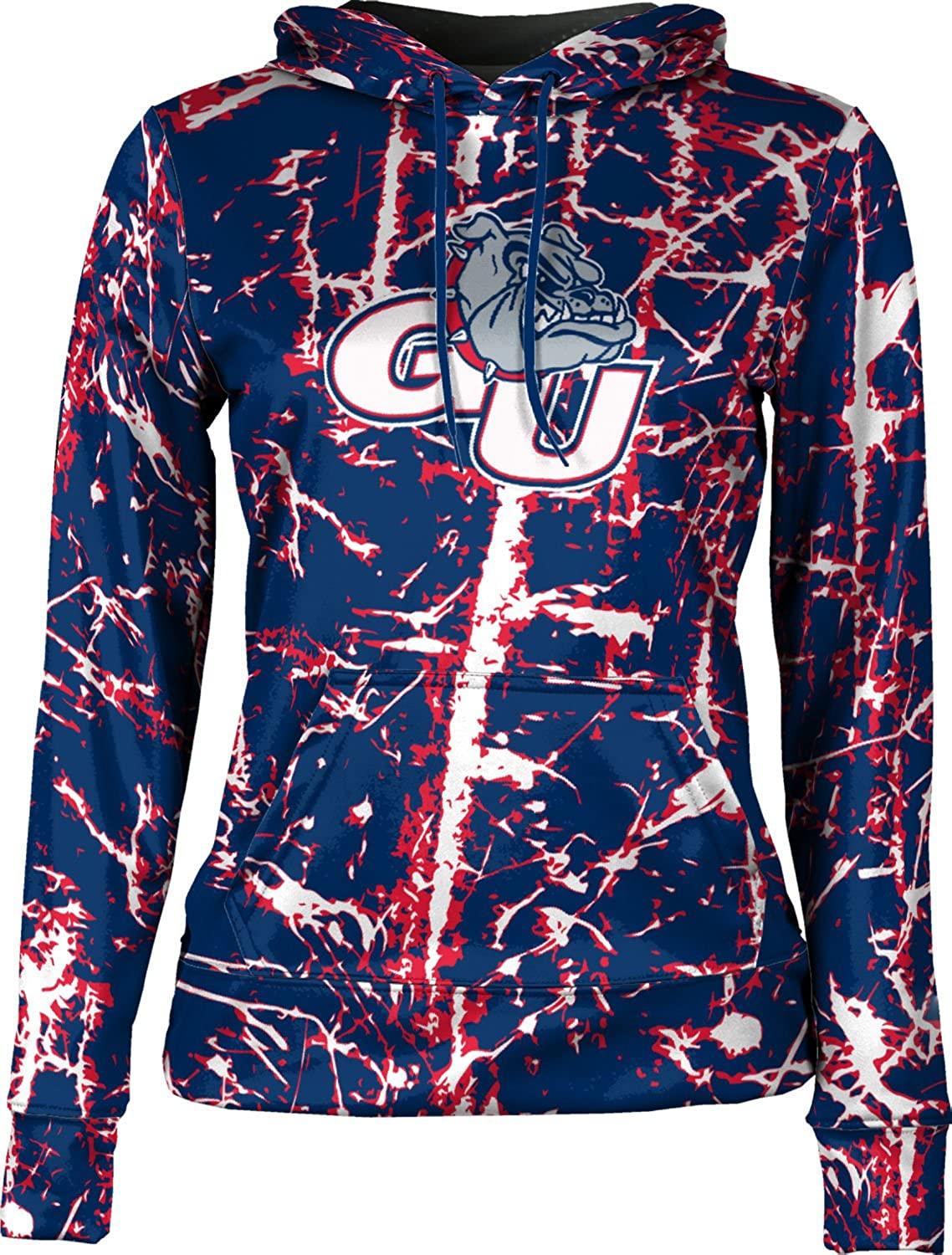 Distressed School Spirit Sweatshirt ProSphere Gonzaga University Girls Pullover Hoodie