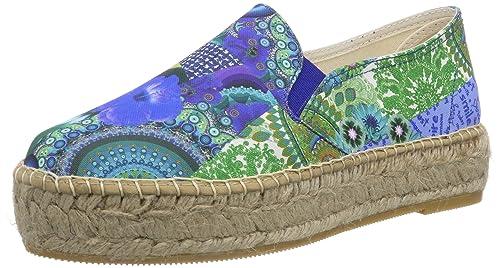 Desigual Shoes Sol - Alpargatas de Material sintético Mujer: Amazon.es: Zapatos y complementos
