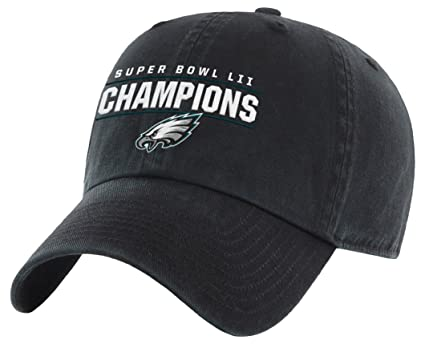 24eeb04fc Image Unavailable. Image not available for. Color  OTS NFL Philadelphia  Eagles Super Bowl SB52 Champions Challenger Adjustable Hat ...