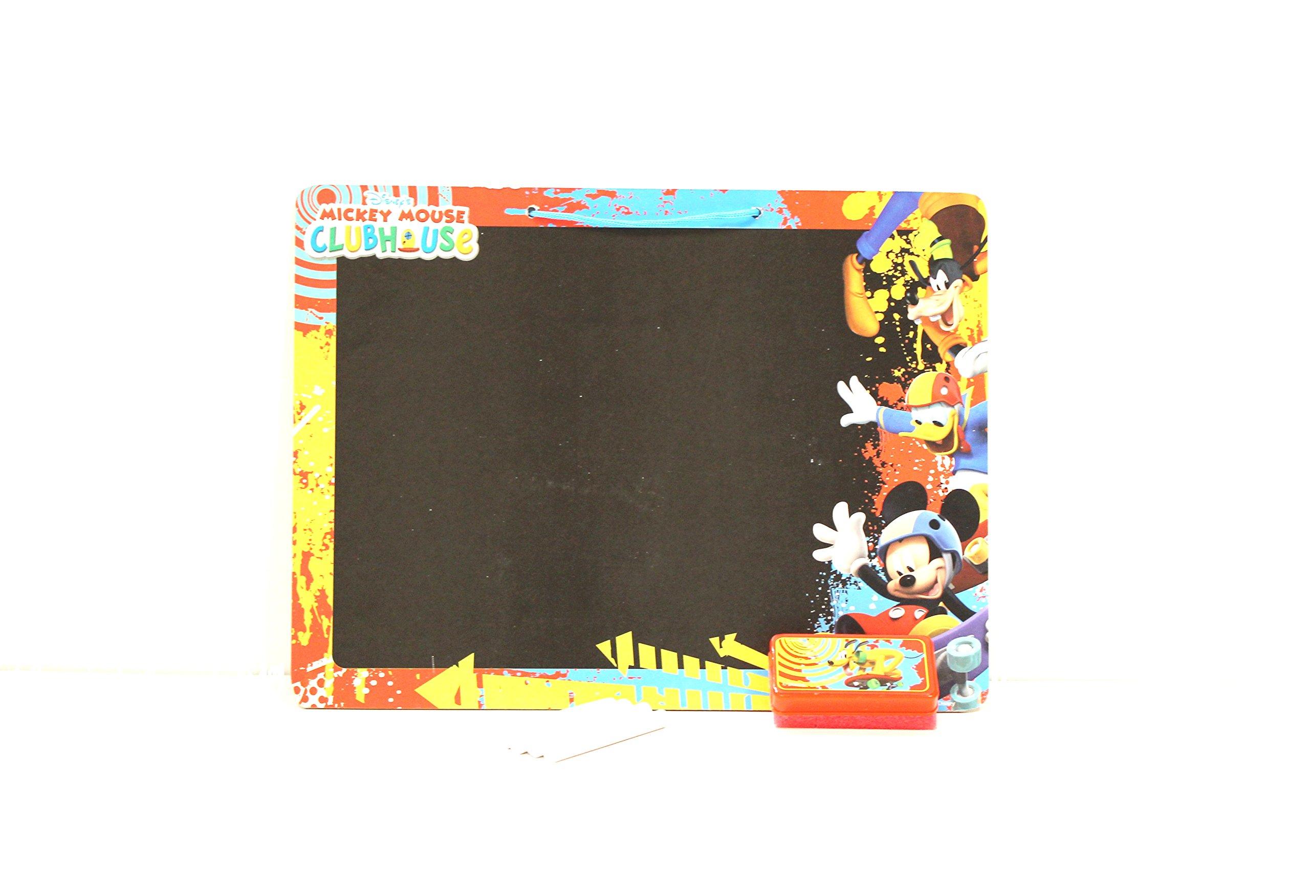 WeGlow International Disney Mickey Mouse Clubhouse Chalkboard Set