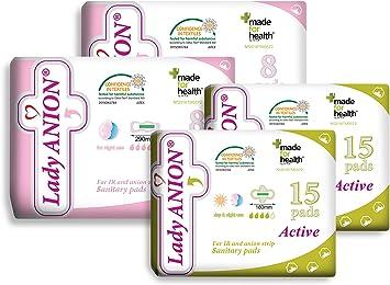 Lady Anion set menstrual para tu período no abundante/moderado ...