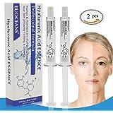 Sérum à l'Acide Hyaluronique Hydratant pour le visage, Hyaluron Sérum anti age et anti rides idéal pour une utilisation avec dermaroller, Repulpe et lisse les rides et ridules, plus saine