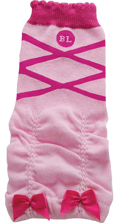 BabyLegs Lil' Ballerina Organic Leg Warmers, Pink, 0-3m BL14-16932