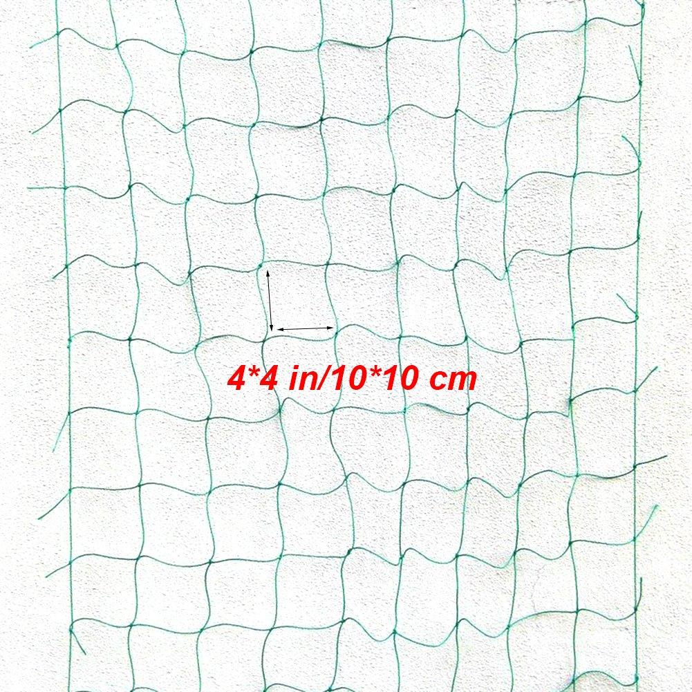Il Cetriolo e Altri Viticoltura per larrampicata Facile Nylon Trellis Net Robusto e per Sostenere le Verdure ei Frutti I Fagioli 1,8 x 3,6M//5,9 x 11,8Ft