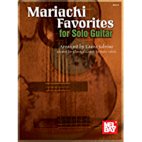 Mariachi Favorites for Solo Guitar book cover