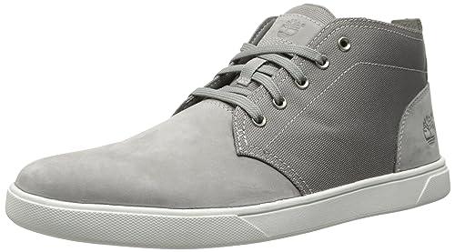 96f3f08dcb2 Amazon.com | Timberland Men's Groveton Leather Fabric Chukka Boot ...