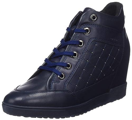 8b9154b49a Geox Women's D Carum C Low-Top Sneakers: Amazon.co.uk: Shoes & Bags