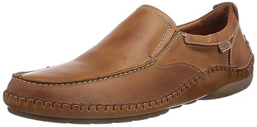 Pikolinos MARBELLA M0A_V15 - Zapatillas de casa de cuero hombre, color marrón, talla 39: Amazon.es: Zapatos y complementos