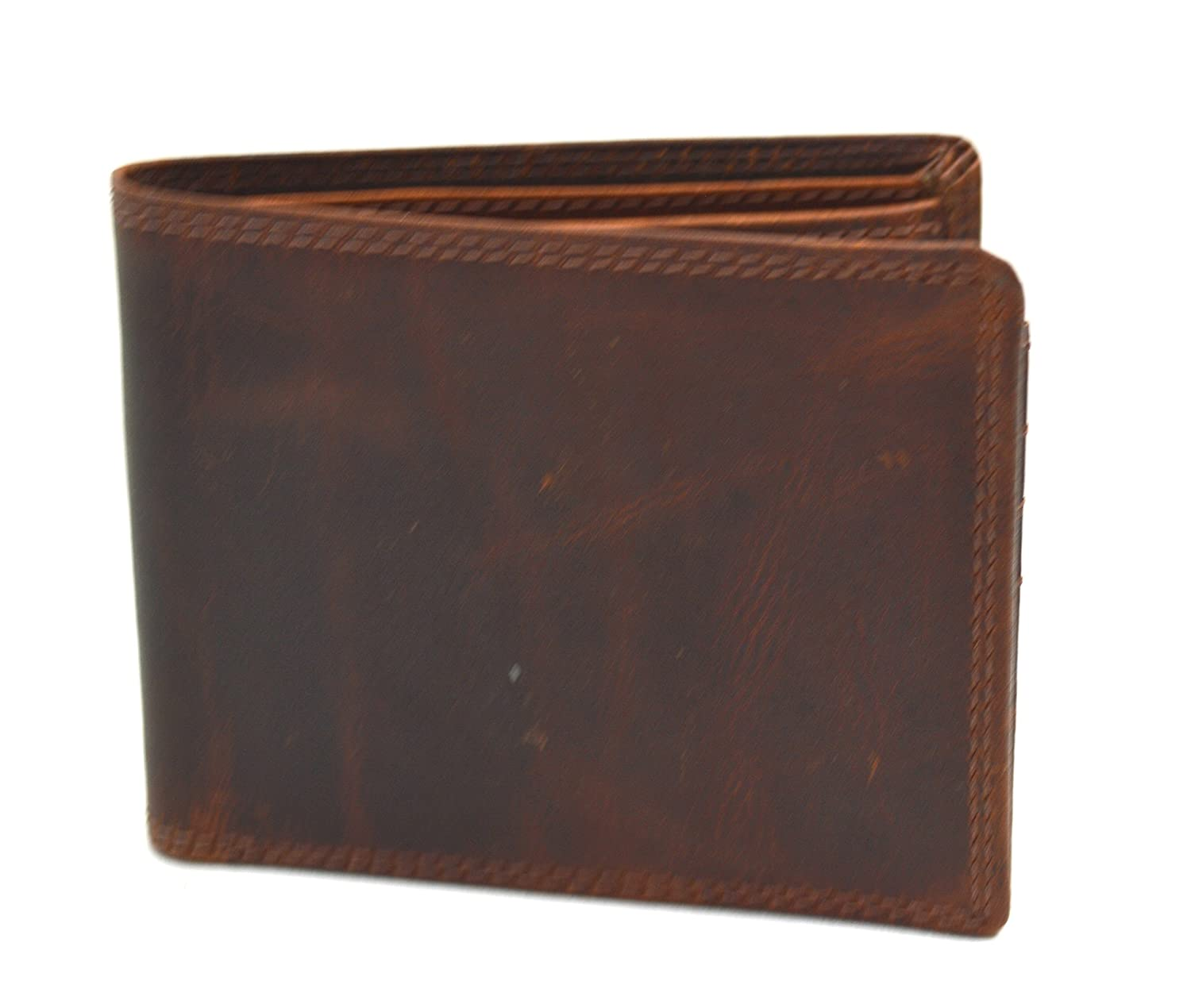 5713cae1b497e8 Buffalo Wild Edition Leather Gents Wallet in Sleek Design: Amazon.co.uk:  Clothing