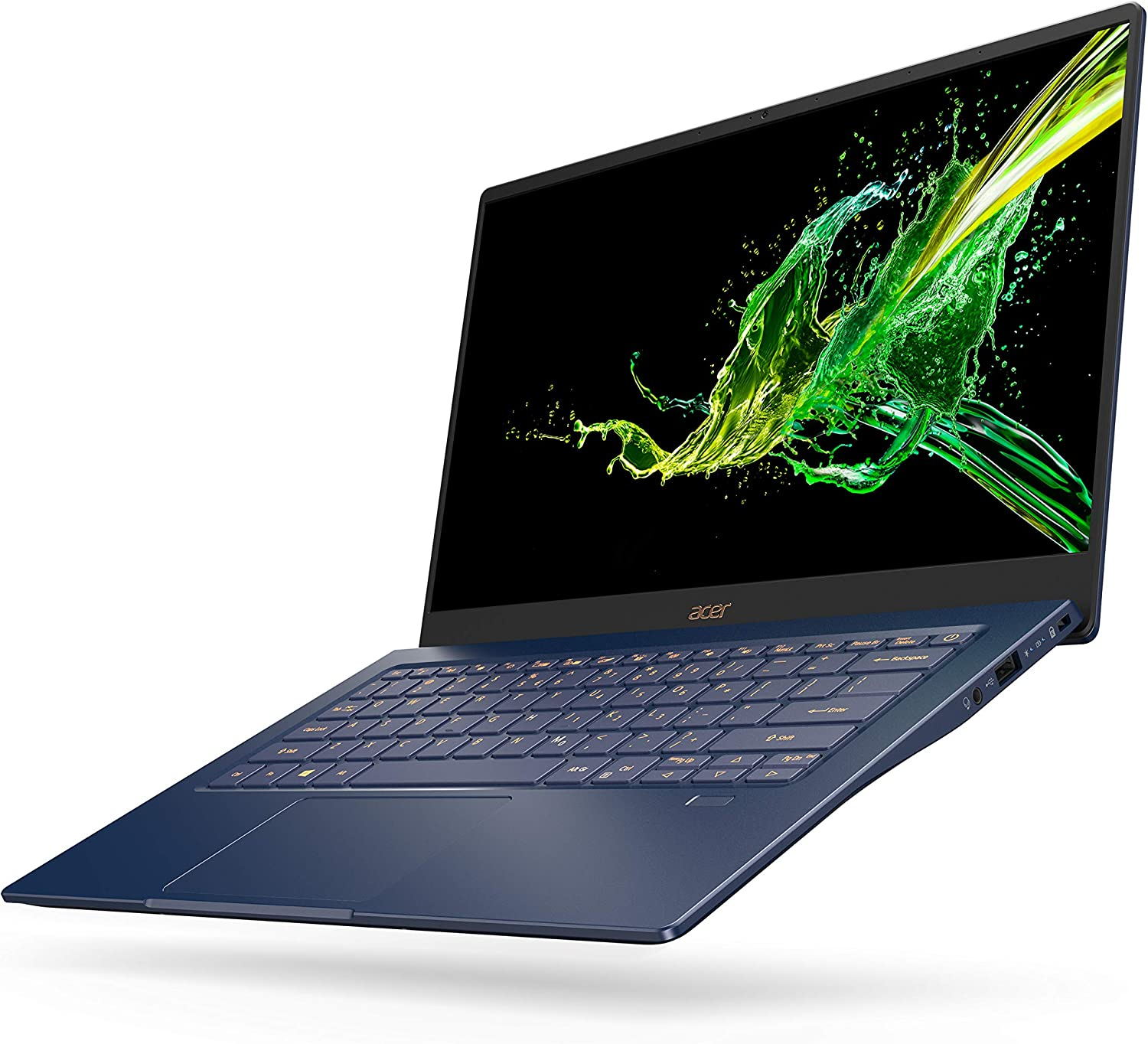 Blue Acer Canada SF514-54T-75X5 Acer Swift 5 Ultra Thin and Light Laptop 512GB SSD 14 FHD IPS Touch Screen Win 10 English 16GB Ram CI7-1065G7