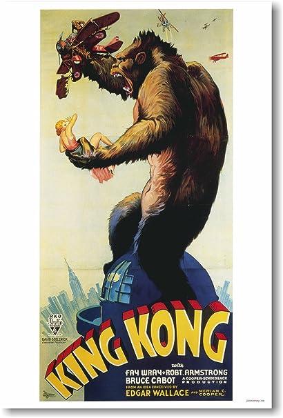 Posterenvy Reprint King Kong 1933 Movie Poster