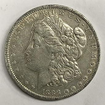 1888 Morgan Silver Dollar Uncirculated Rare MS//BU US Coin $1