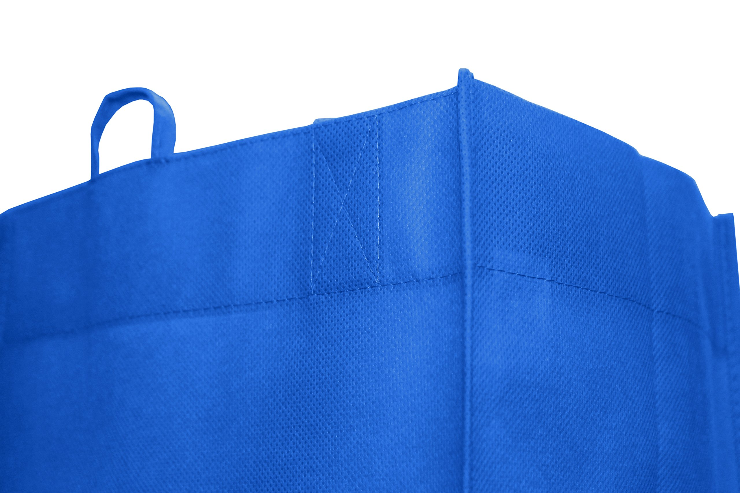 Earthwise Reusable Grocery Bags Shopping Totes Eco Friendly (10 Piece Pack) by Earthwise (Image #3)