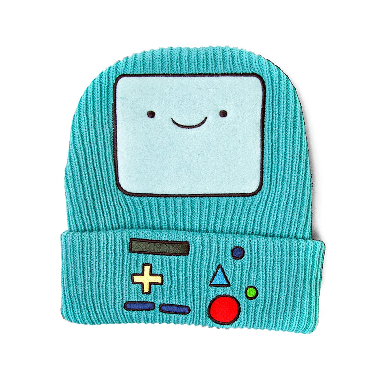 Adventure Time Beanie Beemo Strickmütze Skimütze Cap Hat Mütze