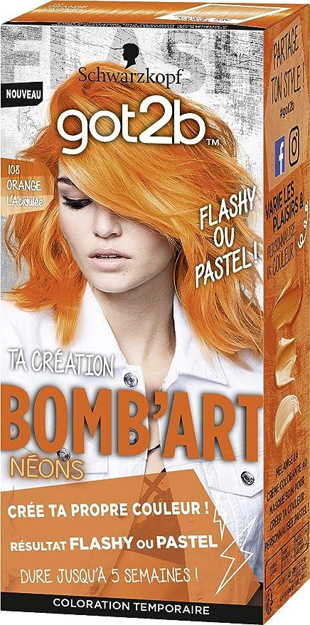 Schwarzkopf Got2B BombArt - Coloración semipermanente para ...