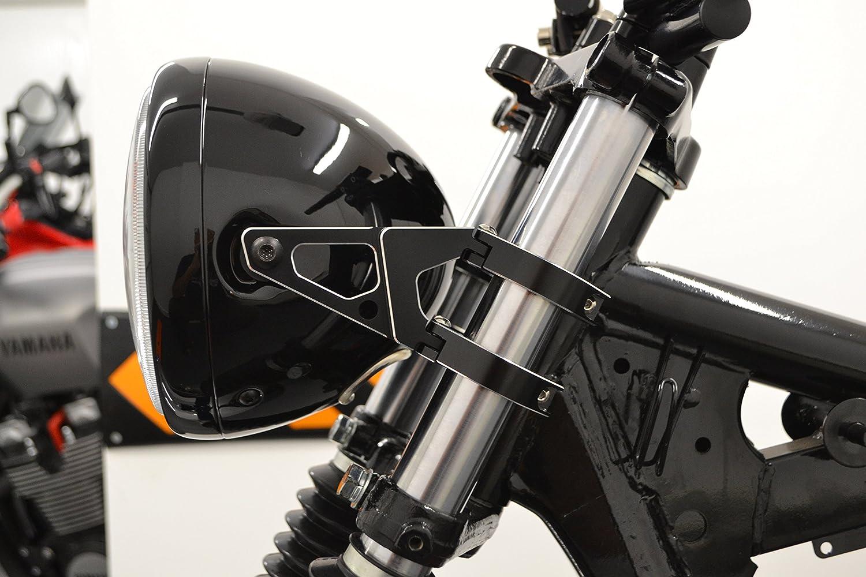 Moto Supporti Faro Paio di 44-45mm Forcelle di Qualit/à Lavorate Al CNC