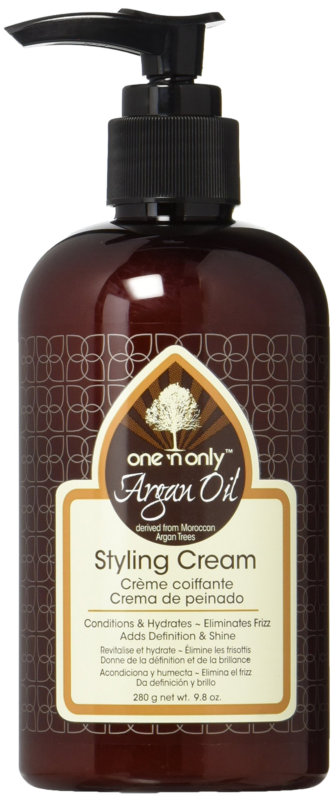 Amazon One N Only Argan Oil Curl Cream Derived From Moroccan